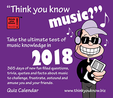 Think You Know Music Calendar Can T Get Enough Of Music